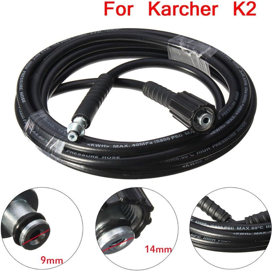 Proglam 5M 5800PSI/160BAR Manguera de repuesto de alta presión para Karcher K2 Cleaner