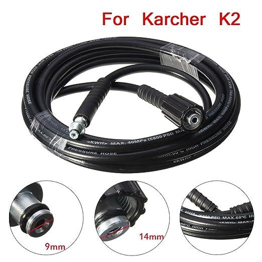 160BAR Hochdruck Ersatzschlauch f/ür K/ärcher K2 Reiniger ZREAL 5M 5800PSI