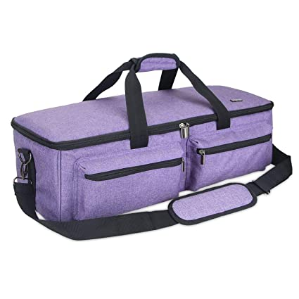 bc8b330e2f66 Luxja Carrying Bag Compatible with Cricut Explore Air 2
