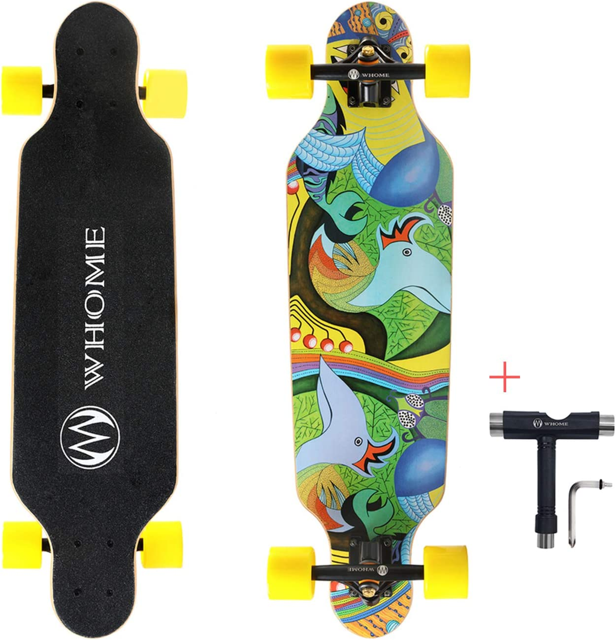 Whome Small Carving Longboard