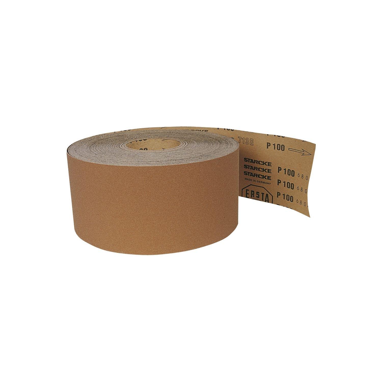 Starcke basculant Papier abrasif grain 150, 1 rouleau de 50 m, 1, Largeur 90 mm, 101126115 1rouleau de 50m Largeur 90mm