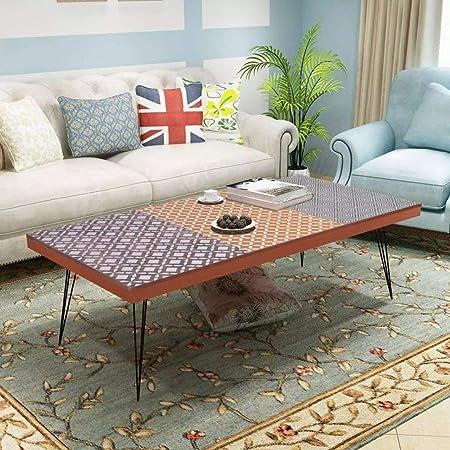 Tavolini Da Salotto Arredamento.Goodwork4ueu Tavolino Da Caffe 120x60x38 Cm Marrone Arredamento