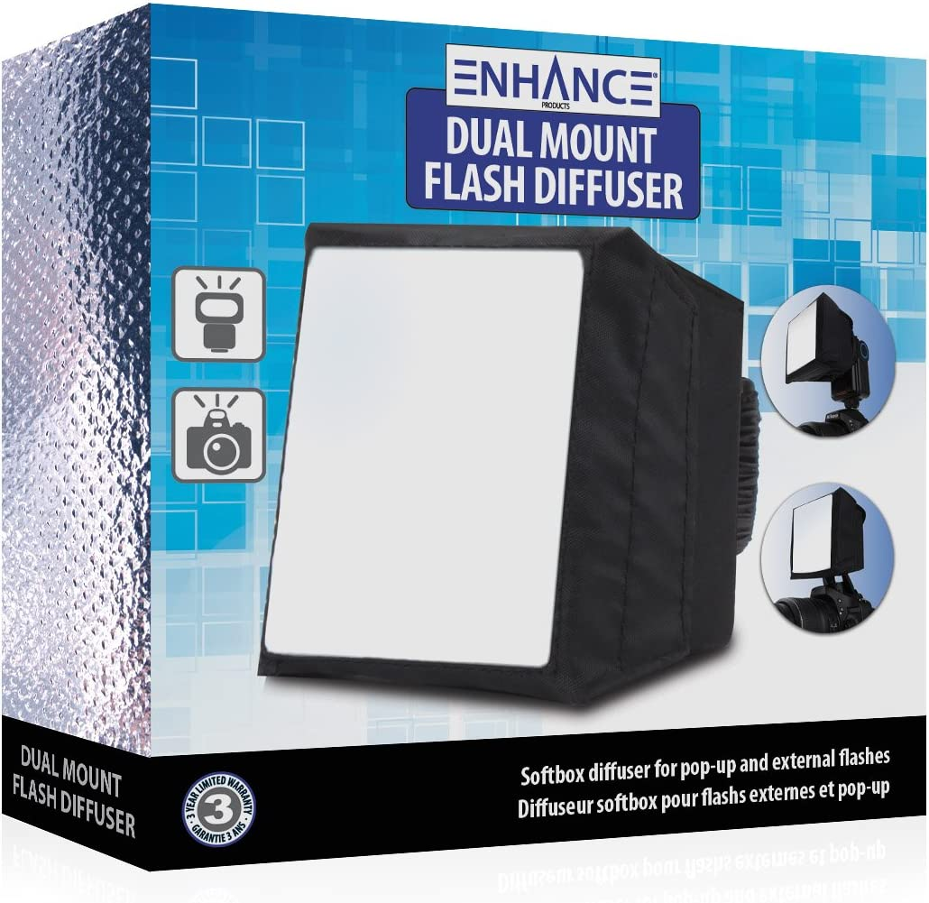 Neewer Compatible with Altura Nikon ENHANCE Universal Studio SoftBox Flash Light Diffuser for Pop-Up and External Speedlites YONGNUO Godox and More Speedlite Flashes Canon