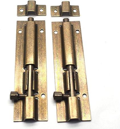 Barrel Door Bolts Slide Solid Brass or Chrome for Bathroom-Toilet-Shed-Store