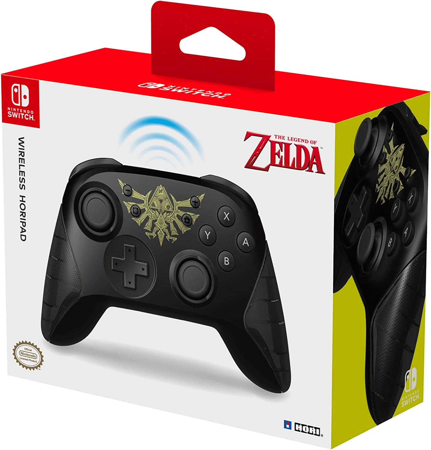 Hori - Horipad Inalámbrico Zelda (Nintendo Switch): Amazon.es ...