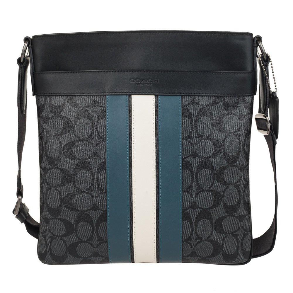 Amazon.com  COACH Mens PVC Hand shoulder bag F26068 (Gray black)  Shoes cda1aa18a5706