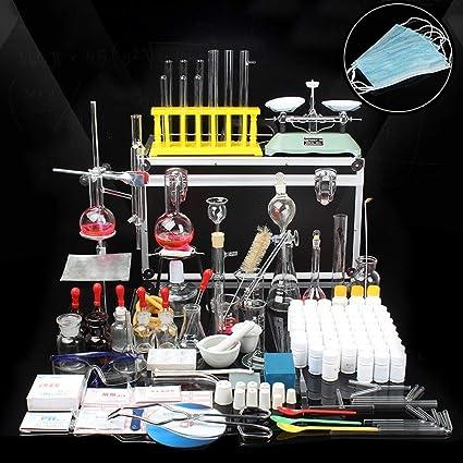 Aparato De Destilación De Aceite Esencial De Laboratorio Purificador De Agua Destilador Kits De Cristalería W/Caja ...