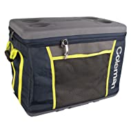 Coleman Sport 45 Can Collapsible Soft Cooler, Yellow/Blue
