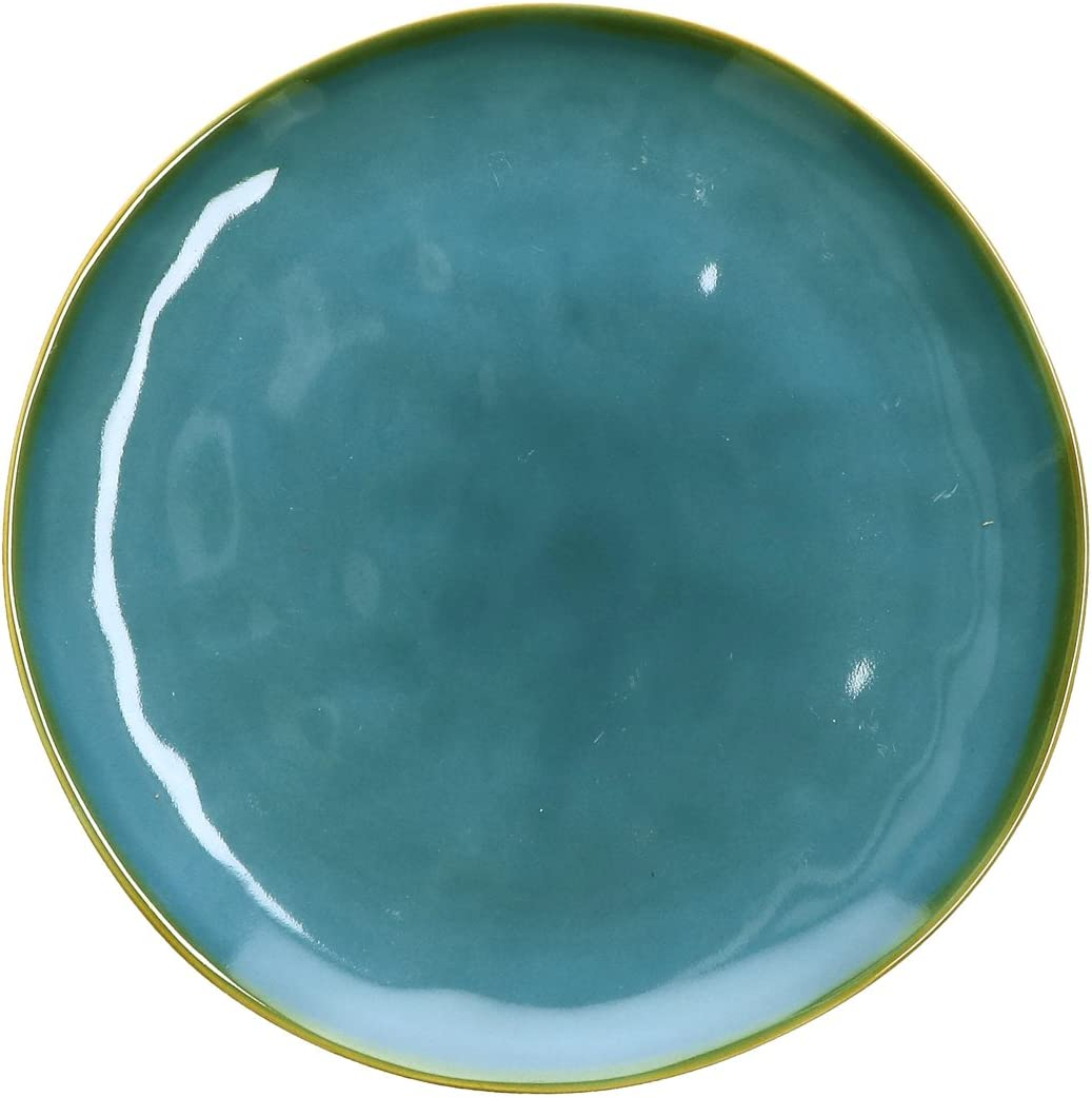 Rose and Tulipani Concerto Side Plate 20cm Blue