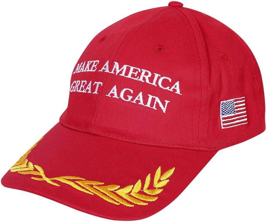 Make America Great Again Hat Trump 2016 Republican Adjustable Red Cap