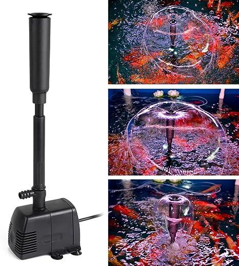 16 Watt 800 l//h Teichpumpe Springbrunnenpumpe Wasserspiel-Pumpe Fontaine