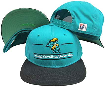 a21e2ea0 Amazon.com: Coastal Carolina Chanticleers Classic Split Bar Snapback  Adjustable Snap Back Hat/Cap: Sports & Outdoors