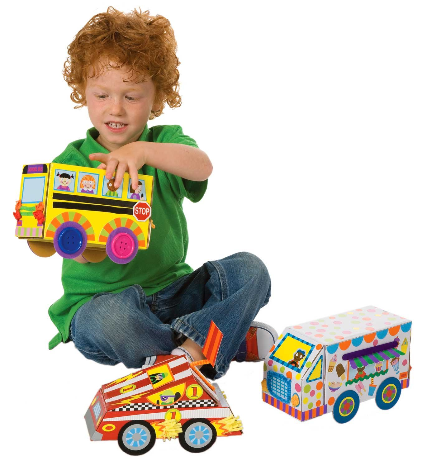 Amazon ALEX Toys Little Hands My Crafty Cars Toys & Games