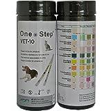 1 x Dog, Cat, Pet Urine Test Strips for pH, Infection, Diabetes Vet Test Parameter Sticks - 50 strips per tub
