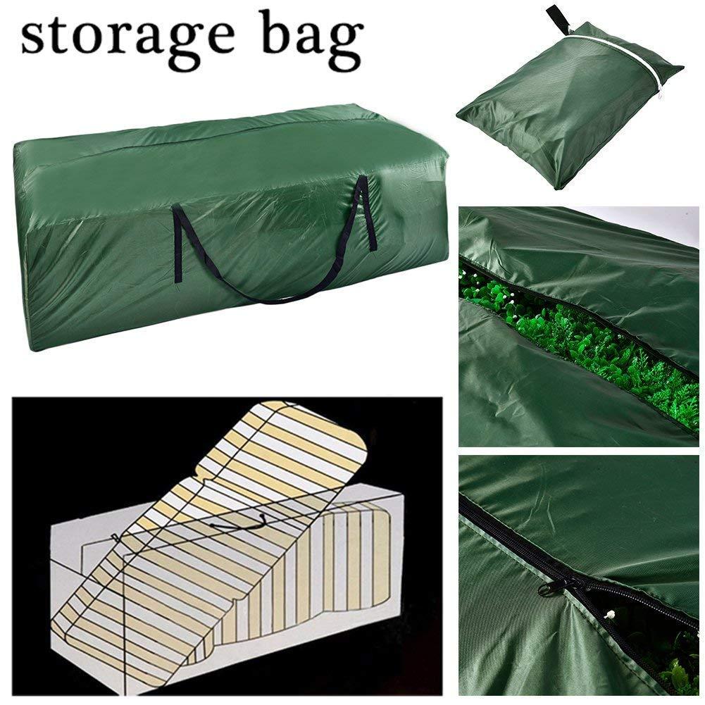 Sunzit Bolsa de Almacenamiento para Muebles de Patio Impermeable Ligera para Llevar al Aire Libre Organizador Bolsa Almacenamiento