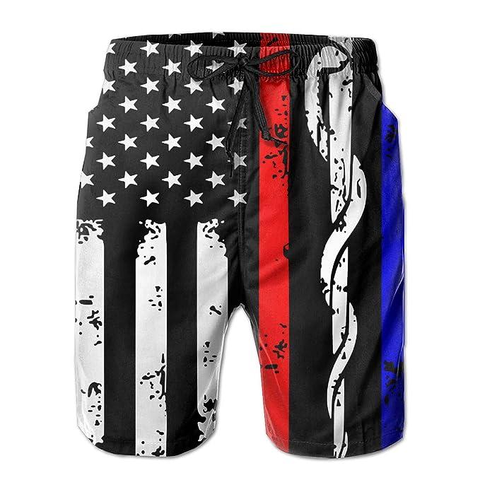 Amazon.com: Police & Firefighter & EMT - Pantalones cortos ...