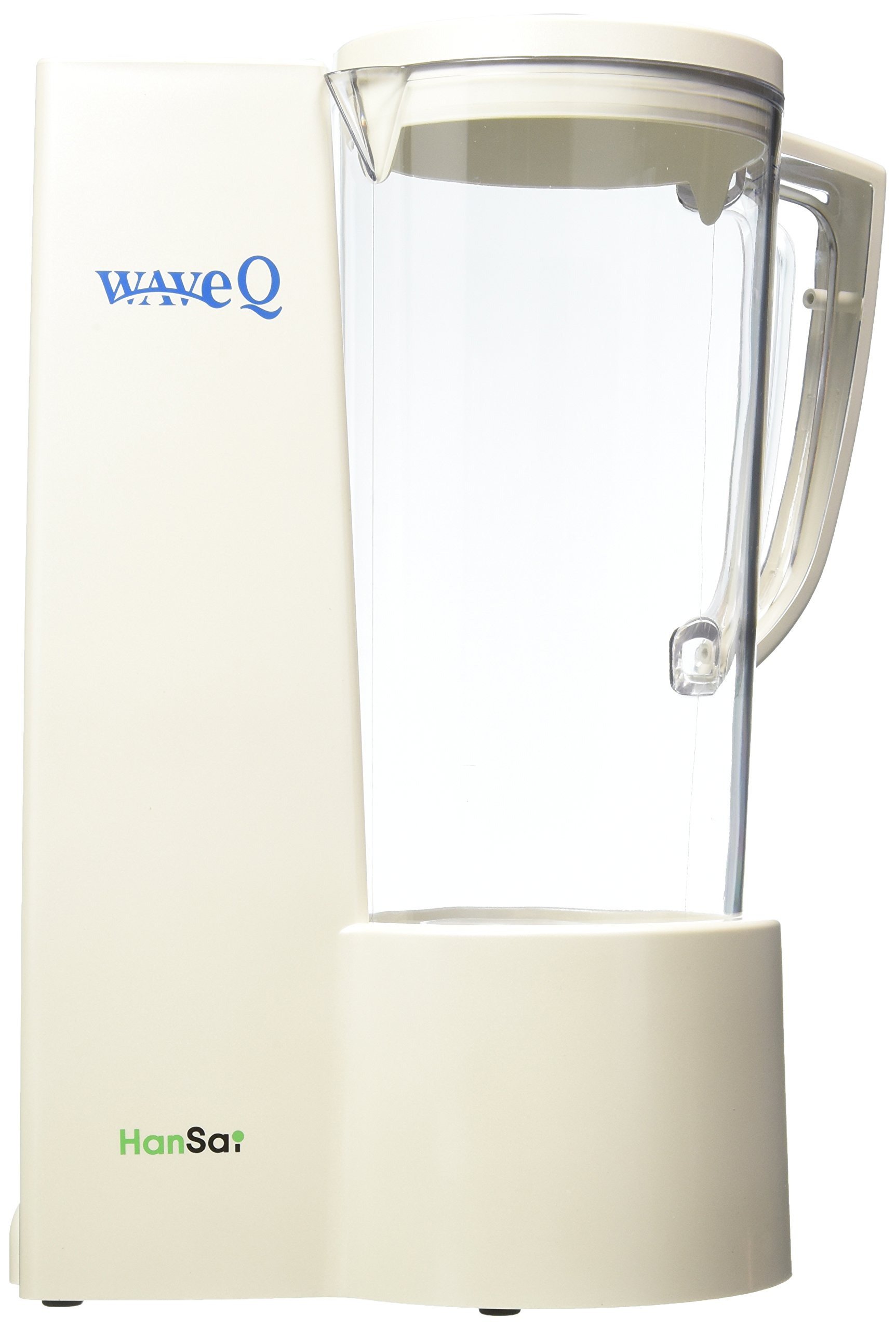 Wave Q- Mineralized Hexagonal Alkaline Water Generator to rapidly hydrate, replenish deprived cells, and eliminate free radicals.