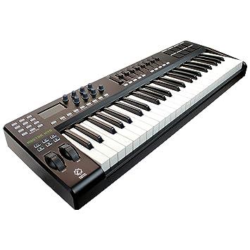 Eagletone K49 teclado MIDI/USB de 49 teclas Negro: Amazon.es: Instrumentos musicales