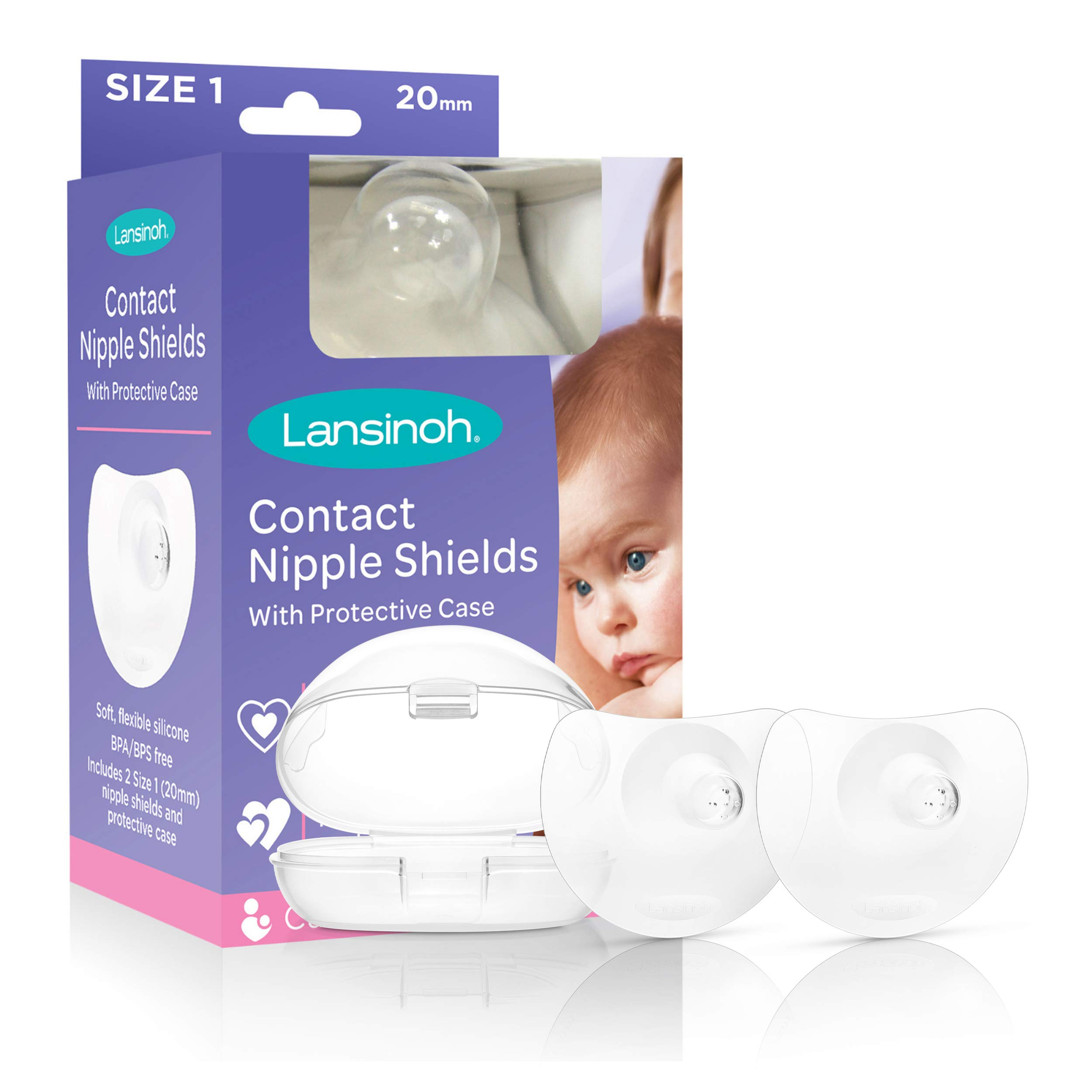 Lansinoh Contact Nipple Shields