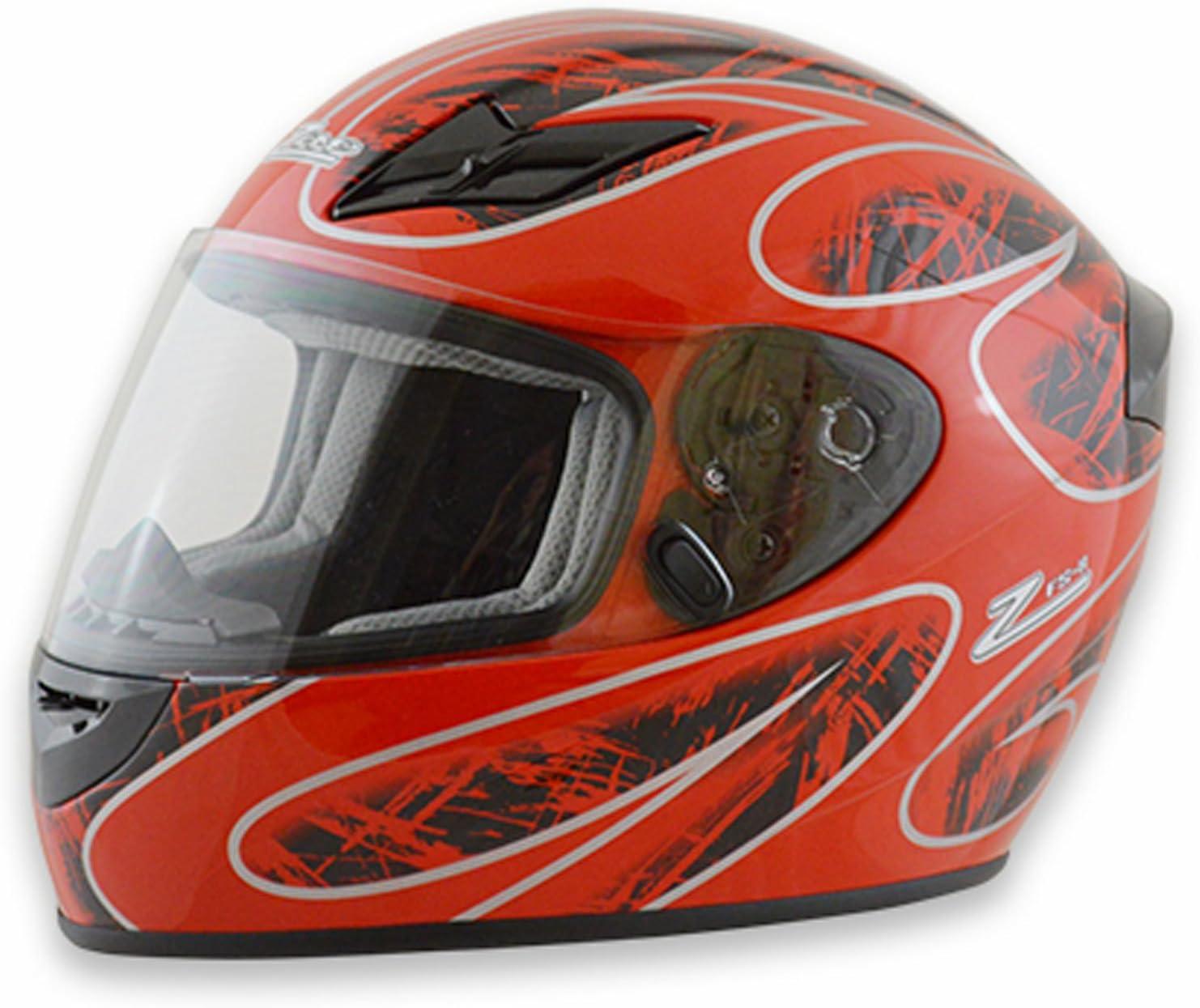 Zamp FS-8 Snell M2015 / DOT Helmet