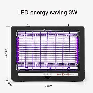 Lámpara LED Mata Insectos Eléctrica