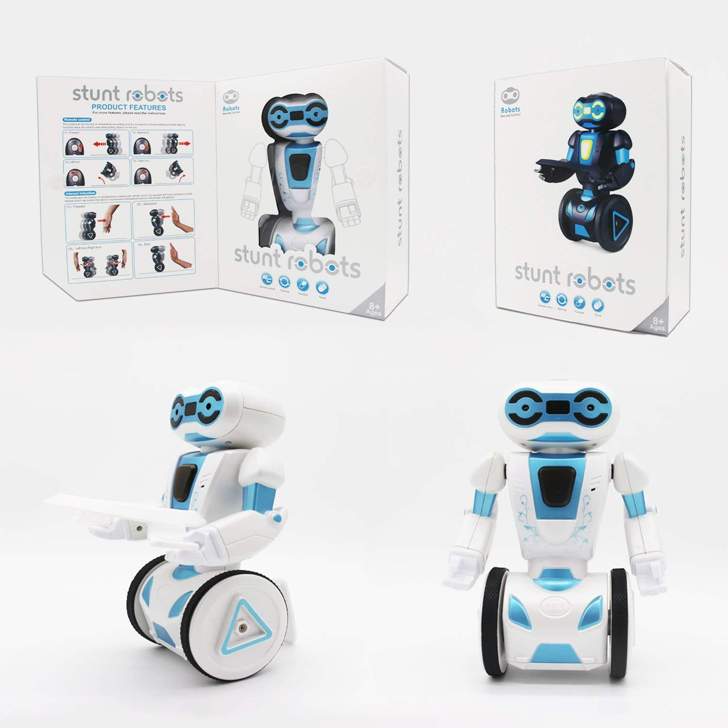 Hi-Tech 2.4GHz Remote Control Robot Smart Toys, 5 Modes Interactive Robot for Kids,Children,Girls, Boys by HI-TECH OPTOELETRONICS CO., LTD. (Image #6)