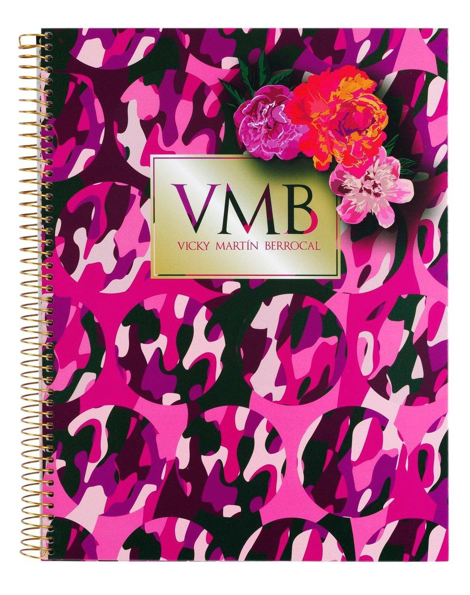 Vicky Martín Berrocal micro 120-Blocco A4, colore: rosa (Safta 561636064)