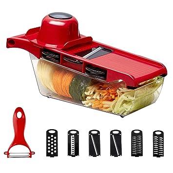 Vegetable Slicer Cucumbers Kitchen Gadget Making Shredder Manual Roller