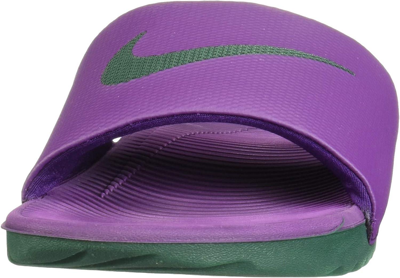 Nike Herren Kawa Slide Sneakers, Rot Mehrfarbig Night Purple Midnight Green 001