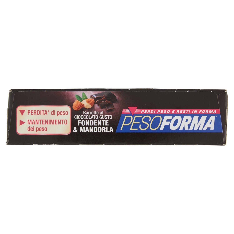 Pesoforma barreta de chocolate negro y almendra 6 comidas 12 piezas: Amazon.es: Salud y cuidado personal