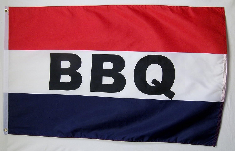 BBQ Flag 3' X 5' Indoor Outdoor (RWB) Barbecue Food Banner