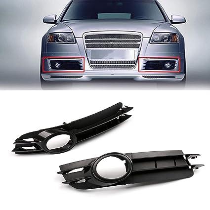 Areyourshop - Rejilla de parachoques delantero inferior para 2005-2007 A6 C6, color negro