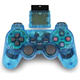 Wireless Controller for PS2 Playstation 2 Blue