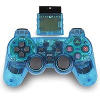 Controle sem fio para PlayStation 2 PS2, Azul