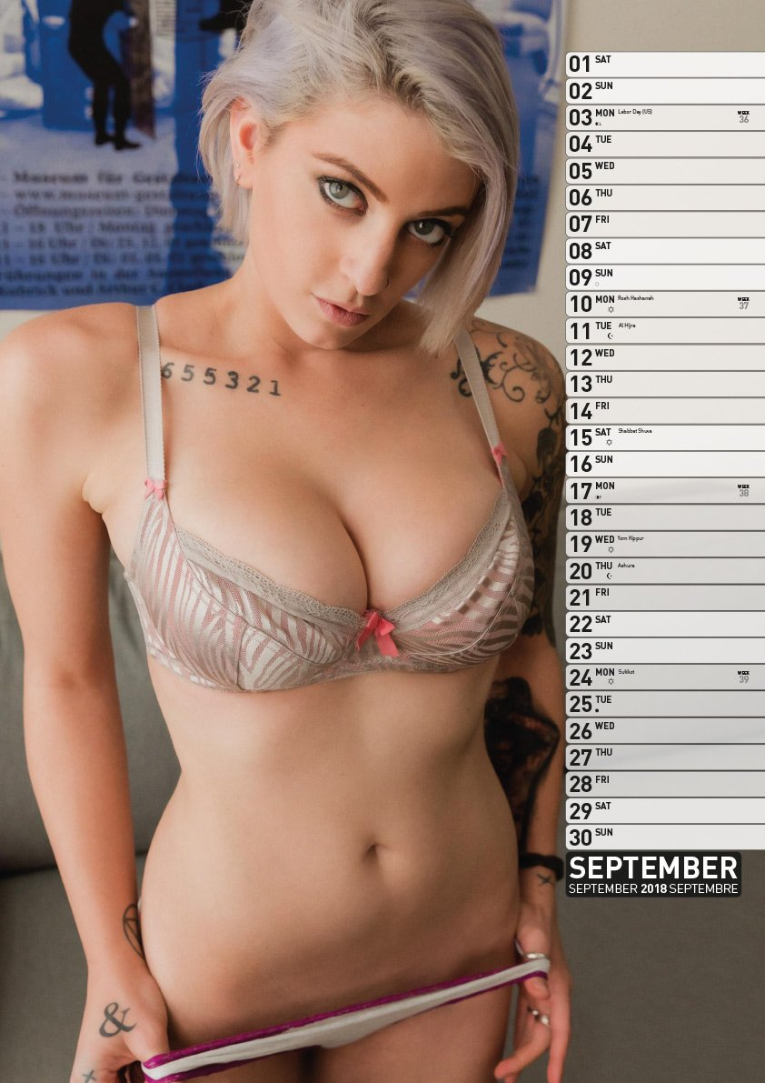 Tattoo Girls Kalender 2018 Bücher