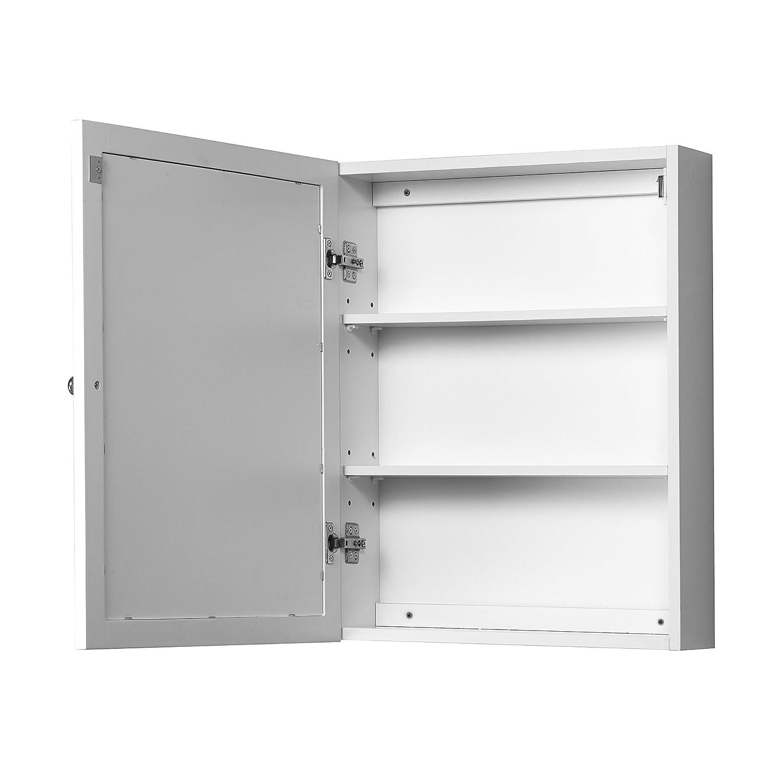 Foremost COWC1924 Columbia White Bathroom Medicine Cabinet