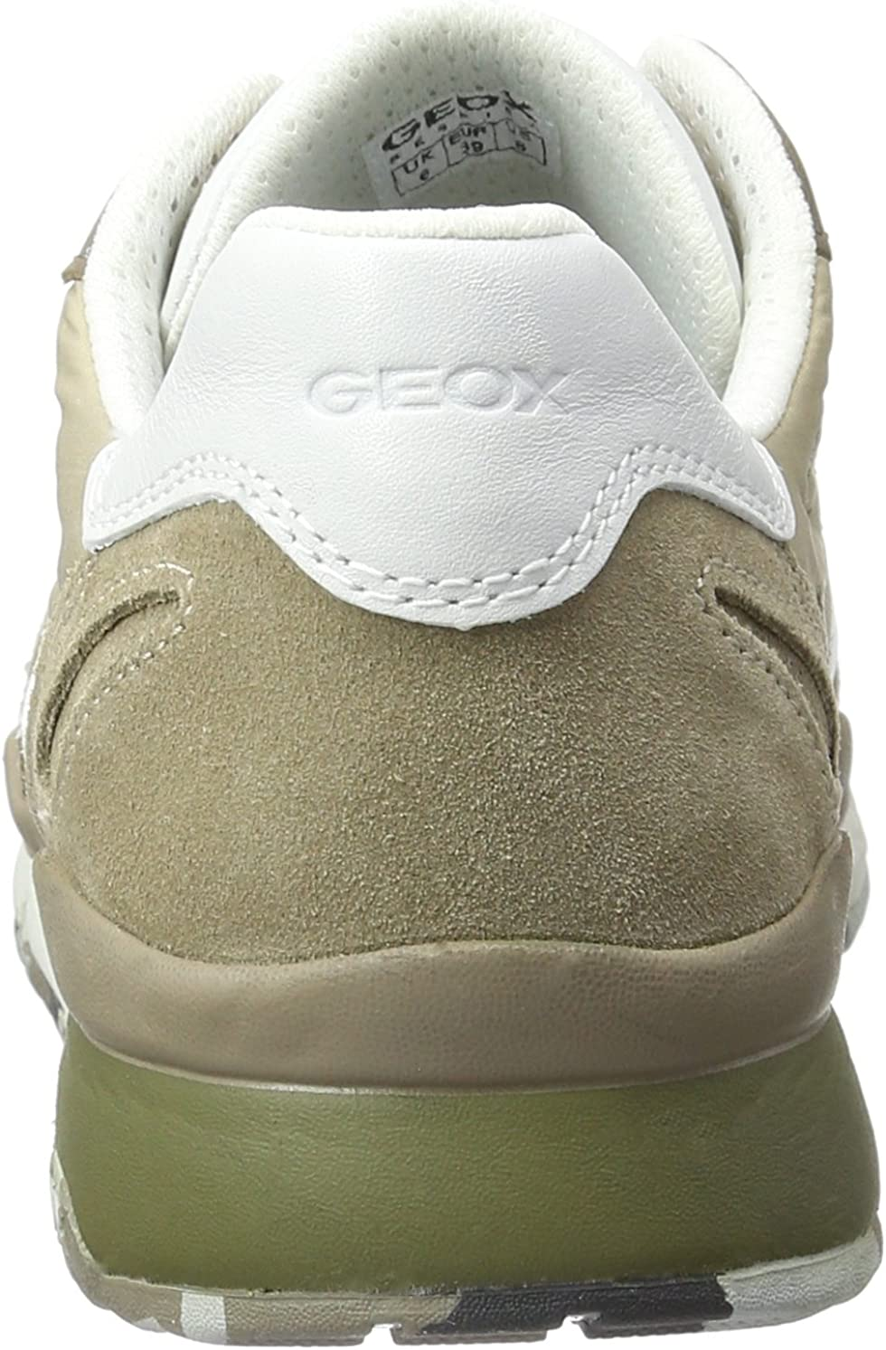 Geox U SANDFORD A Sneakers Hombre Beige Sand Muskc5zb3