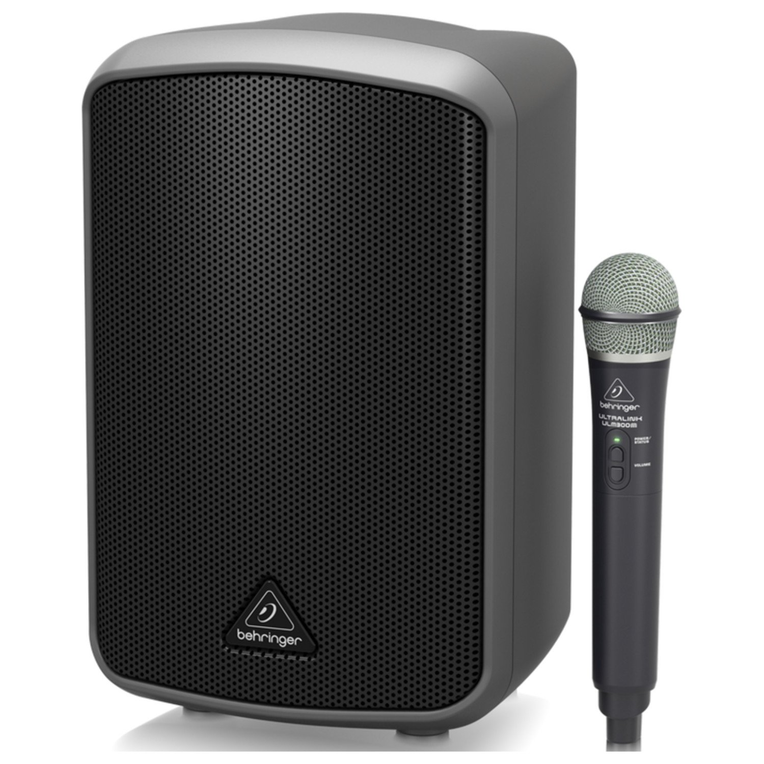 Behringer Portable 100-Watt Speaker with Wireless Microphone, Bluetooth Connectivity and Battery Operation