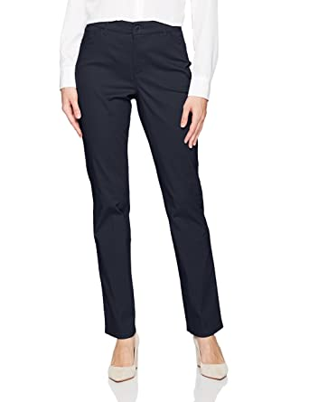 a86893d10d4 GLORIA VANDERBILT Women s Anita Straight Leg Pant at Amazon Women s  Clothing store