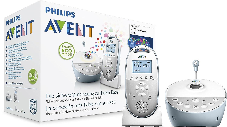 Philips Avent SCD580/00 Babyphone, weiß weiß