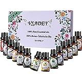 VSADEY Aceites Esenciales Aromaterapia Top 14 Aceites Set de Regalo Perfecto Aceites Esenciales para Humidificador y Difusor Aroma, SPA, Masajes, relajarse, Set Essential Oils 100% Puro y Naturales