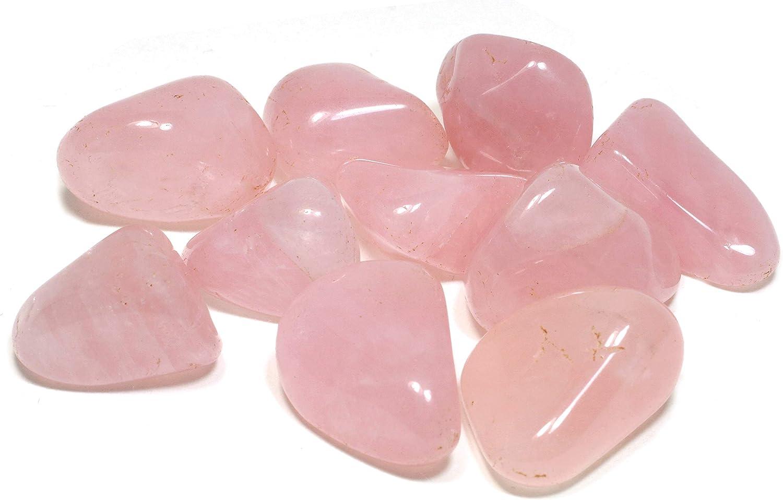 Cuarzo rosa piedra de carga extra (20–25mm)
