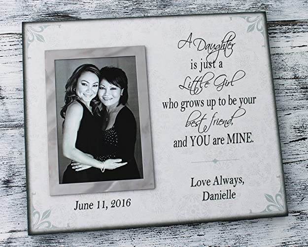 Amazoncom 10x12 Canvas Personalized Mother Daughter Frame Handmade