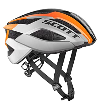 Scott ARX Casco Bicicleta de carreras negro 2018, gris/naranja