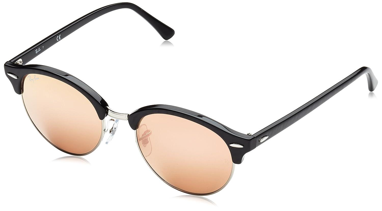 Ray-Ban 0rb4246 Round Sunglasses, Black, 51 mm Ray-Ban Sunglasses MOD.4246SUN_901-51