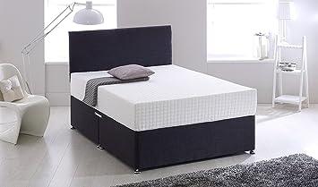 Wake-Up Ortho Memory Foam King Size Mattress (White, 78x72x6 inches)
