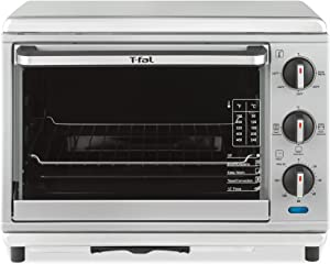 T-fal OT274E Stainless Steel Convection and Rotisserie Toaster Oven, Silver
