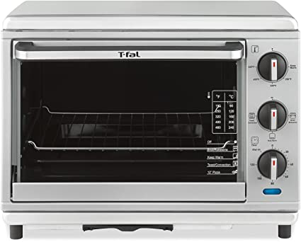 T-fal OT274E Stainless Steel Convection and Rotisserie Toaster Oven, Silver by T-