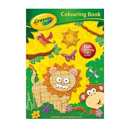 pick Crayola Jungle Colouring Book