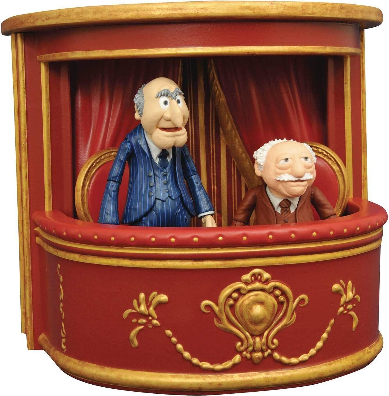Diamond Select Toys The Muppets: Statler & Waldorf Select Action Figure